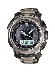 Titanium Casio Protrek Triple Sensor Solar Watch PRG-510T-7