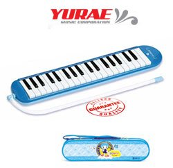 Yurae 37 Key Children's Melodica Blue AM-37KWB