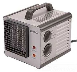 Electric Space Heater, 120V, 1500/1200W