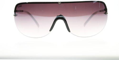 44f9a6a95ac6 SXUC 965 White Kai Visor Sunglasses