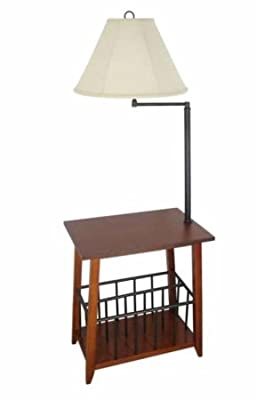 Legacy Home LTD Berkley Magazine Rack Lamp