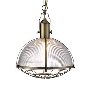 industrial-style-antique-brass-with-clear-ribbed-glass