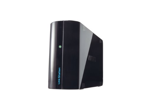 Buffalo Linkstation Mini NAS, 2TB, Nero/Antracite