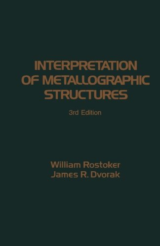 Interpretation Of Metallographic Structures 3E front-556800