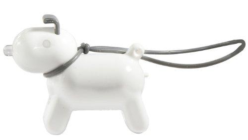 AREA+ LEDライト付き Doggy Keyfinder ホワイト 130001WH