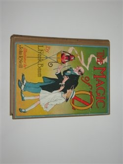 THE MAGIC OF OZ, L.FRANK BAUM