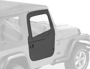Bestop 51789-35 Black Diamond 2-Piece Door Set For 97-06 Wrangler Tj Including Wrangler Unlimited
