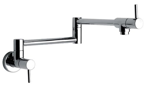 Jewel Faucets 25518  Single Hole Pot Filler Kitchen Faucet  in Chrome