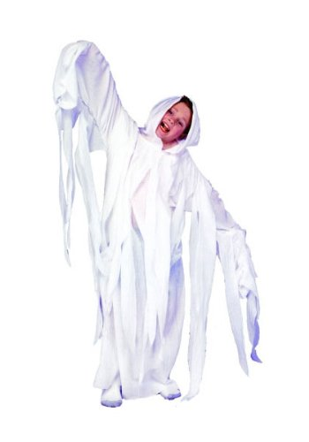 Ghostly ghost- White robe costume