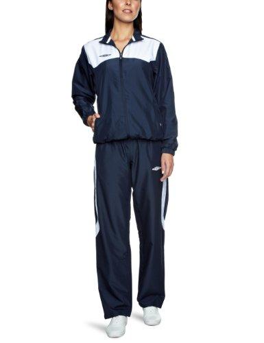 Umbro Women's Sports Tracksuit - Dark Navy/White,