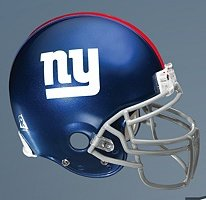 New York Giants FATHEAD Official TEAM HELMET LOGO NFL Vinyl Wall Graphic 17x14 by Fathead