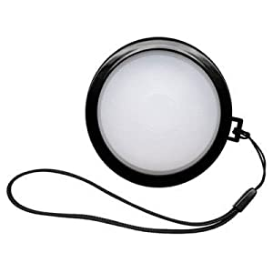 Polaroid White Balance Lens Cap For The Pentax X-5, K-01, K-30, K-X, K-7, K-5, K-5 II, K-R, 645D, K20D, K200D, K2000, K10D, K2000, K1000, K100D Super, K110D, *ist D, *ist DL, *ist DS, *ist DS2 Digital SLR Cameras Which Have Any Of These (18-250mm, 28-105mm) Pentax Lenses