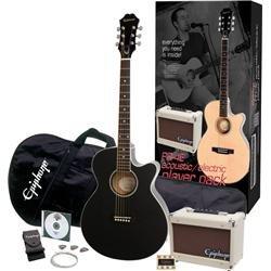 epiphone-ppgr-eep4ebch3-us-pr-4e-player-pack-jumbo-acoustic-guitar-pack-ebony