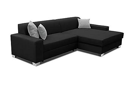 Bigsofa Anika Sofa Couch Ecksofa Eckcouch mit Bettfunktion Schlafsofa 01309