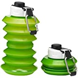 Ohyo 1000ml Collapsible Water Bottle (Green)