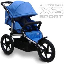All Terrain X3 Sport Stroller Color: Blue