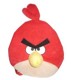 Imagen de Angry Birds de peluche Mochila Pájaro, Rojo
