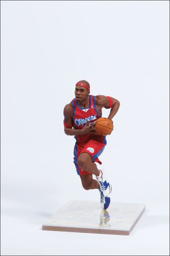 McFarlane Toys NBA Sports Picks Series 8 Action Figure Corey Maggette (Los Angeles Clippers) Red Jersey