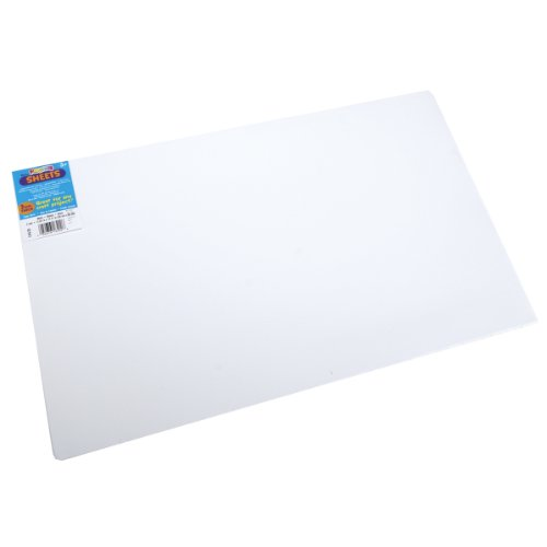 "Find Bargain Foam Sheet 12""X18"" 2mm-White  10 per pack"