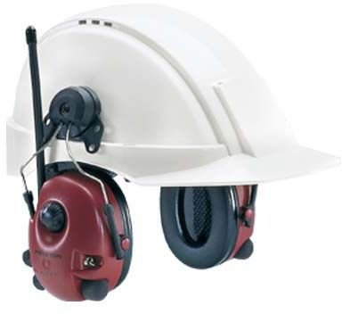 Peltor Alert Hearing Protection Headset, 23Db, Hard Hat Mount - M2Rx7P3E