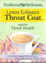 Tea, Throat Coat, Lemon Echinacea, Bags, 16 ct.