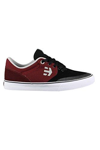 etnies-marana-vulc-chaussures-aaron-ross-col-595-noir-rouge-skate-chaussures-dentrainement-noir-noir