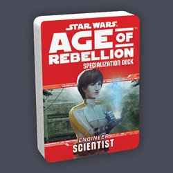 Star Wars Age of Rebellion: Scientist Specialization Deck