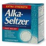 海外直送品Alka-Seltzer Alka-Seltzer Extra Strength Antacid Relief Effervescent Tablets, 24 tabs