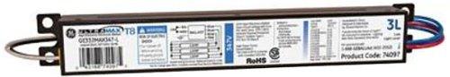 Ge Lighting 74097 Ge332Max347-L 347-Volt Ultramax Electronic Fluorescent T8 Multi-Volt Instant Start Ballast 3 Or 2 F32T8 Lamps