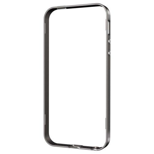 国内正規品  Spigen iPhone 5s / 5 ケース ネオ・ハイブリッド 専用 フレームパーツ (ガンメタルSGP10589)