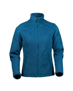 Womens IronWeave Bonded Fleece Jacket STORM BLUE - 3XL