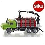 Siku(ジク)社 輸入ミニカー 2714 木材運搬トレーラー1/50