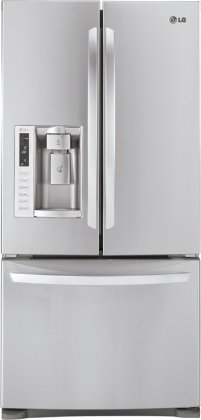 LG LFX25978ST 24.9 Cu. Ft. French Door Refrigerator with Ice and Water Dispenser – Stainless Steel Reviews