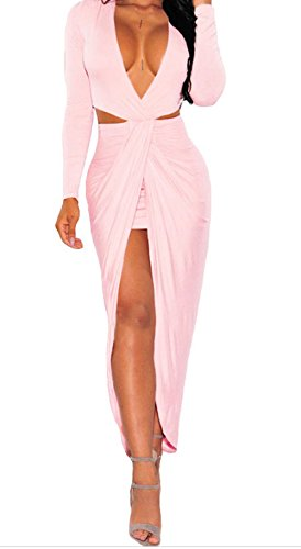 christmas-yeeatz-blush-cut-out-drape-slit-long-sleeve-maxi-dresssizes