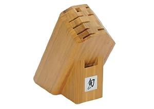Shun Edo 10 Slot Bamboo Block