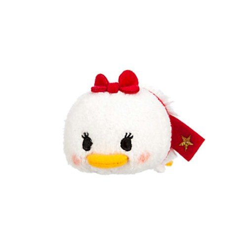 Disney Daisy Duck ''Tsum Tsum'' Plush - Holiday - Mini - 3 1/2''