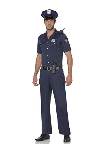 Mystery House Police Officer Costume (Large) (Mystery House Costumes compare prices)