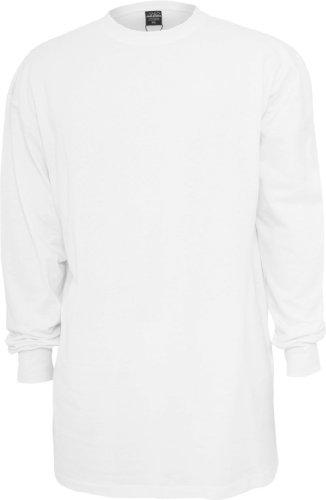 Urban Classics -  Maglia a manica lunga  - Uomo bianco XL