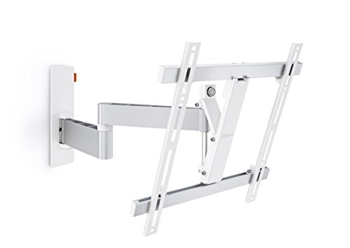 Vogel's WALL Series 180° TV Wall Mount, Swivel and Tilt, WALL 2245 32-55 inch TV, White/Silver (White Tv Bracket compare prices)