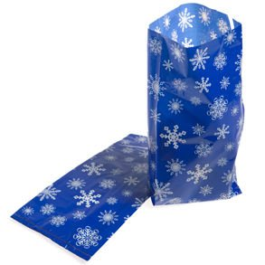 Snowflake Cellophane Bags