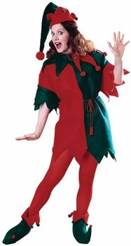 Elf Tunic Costume - Standard - Dress Size 10-12