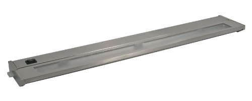 American Lighting 043X-3-Bs Priori Xenon Undercabinet Hardwire Light, 60-Watts, Hi/Low/Off Switch, 120-Volt, 22-Inch, Brushed Steel