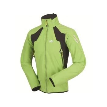 MILLET Pro lighter windstopper Veste softshell homme miv4845 vert