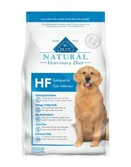 Blue Natural Veterinary Diet HF Hydrolyzed for Food Intolerance Dry Dog Food 6 lb
