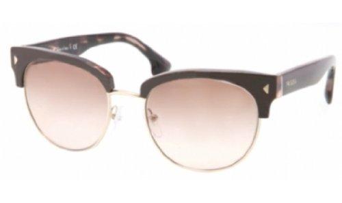 pradaPrada PR08QS Sunglasses-ROL/0A6 Top Brown/Pink Havana (Brown Gradient Lens)-51mm