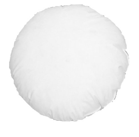 Purchase 20 X 20 Round Cluster Fiber Pillow Form Insert Hypo-allergenic Made in USA