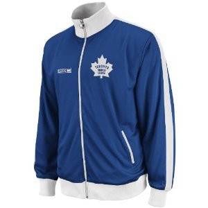 NHL Toronto Maple Leafs Lord Stanley Track Jacket, Large ,Royal