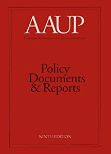 AAUP Policy Documents and Reports  by AAUP