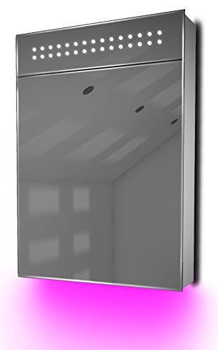 Ambient Audio Bathroom Cabinet With Bluetooth, Shaver Socket & Sensor K115Paud