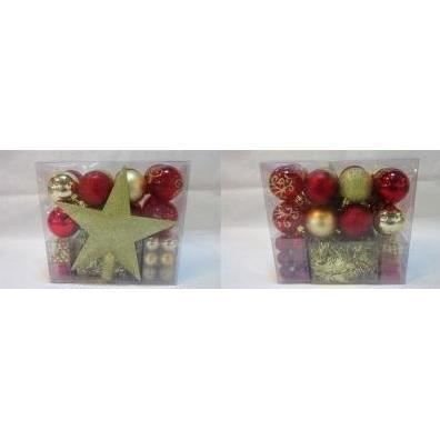 Addobbi natalizi kit di 44 pezzi per albero di natale - Addobbi natalizi per cucina ...